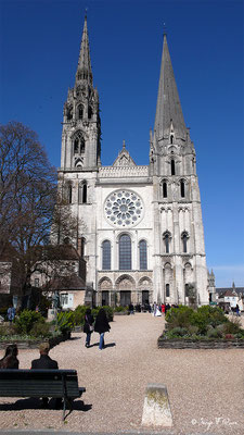 La Cathédrale de Chartres - Eure et Loir - Région Centre - France