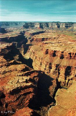 Le Grand Canyon - Colorado - USA (Novembre 1999)