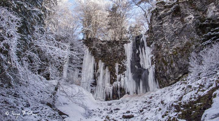 Cascade du saut du loup - Le Mont Dore - Massif du Sancy - Auvergne - France