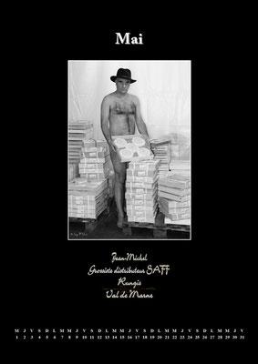 """Calendrier des Fromagers 2013 Mai - """"Secrets de Fromages"""" - Jean-Michel - (Nus / Nudes) ©Photographie Serge  Faure"""