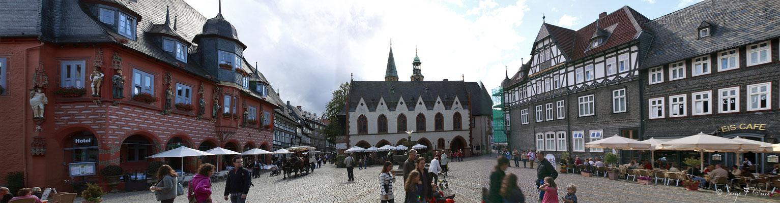 Goslar (ville classée au patrimoine mondial de l'UNESCO) - Le Harz - Allemagne - (le véritable pays des sorcières)