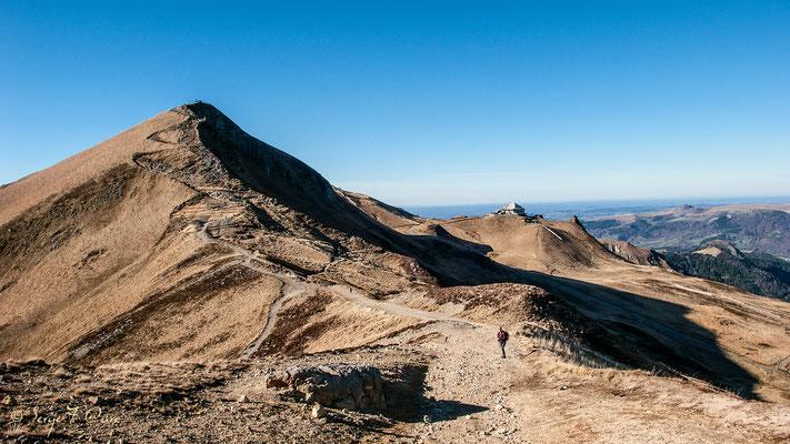 En allant au sommet du Sancy - Le Mont Dore - Massif du Sancy - Auvergne - France