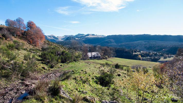 """Lieu-dit """"Chez Tamboine""""  - Massif du Sancy - Auvergne - France"""