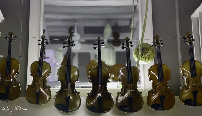 """Air"" de violon sur le fil"