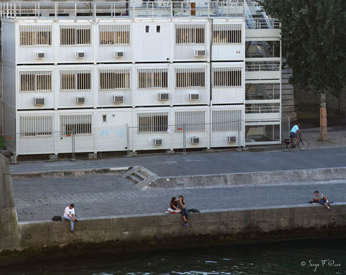Un dimanche à Paris au bord de la Seine - Septembre 2012