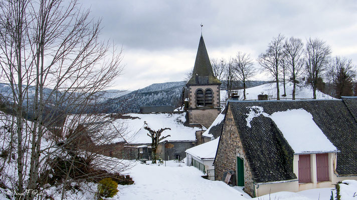 Eglise de Murat le Quaire - Massif du Sancy - Auvergne - France