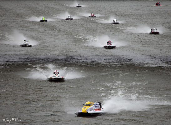 24 heures motonautiques de Rouen 2013 - Normandie - France