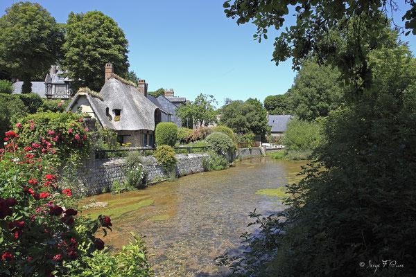 """Chaumière """"Mireille Veules les roses - Pays de Caux - Normandie - France"""