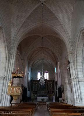 Chœur de Église Saint-Pierre d'Auvillar - France - Sur le chemin de Compostelle