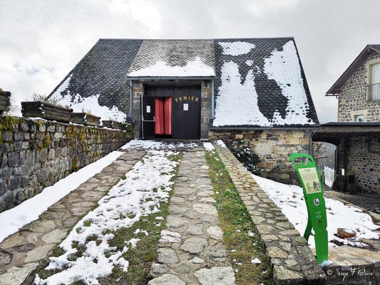 Le fenier - Scénomusée la Toinette et Julien - Murat le Quaire  - Massif du Sancy - Auvergne - France