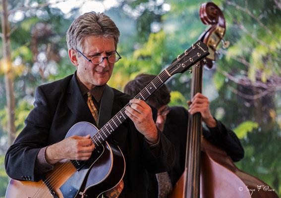Gilles Réa (guitare) - 26ème Festival de jazz 2015 (Sancy Snow Jazz) Le Mont Dore - Auvergne - France