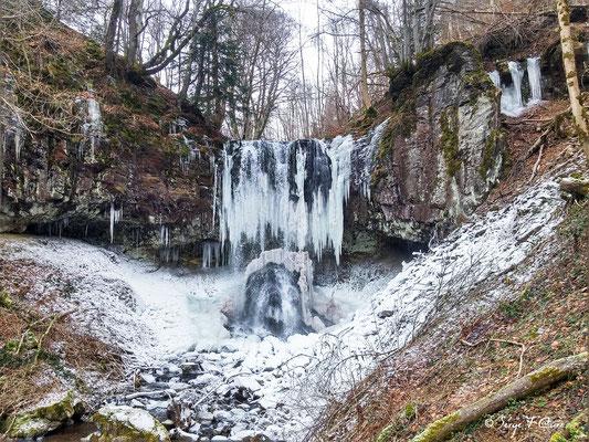 Cascade du Trador - Laqueuille - Massif du Sancy - Auvergne - France