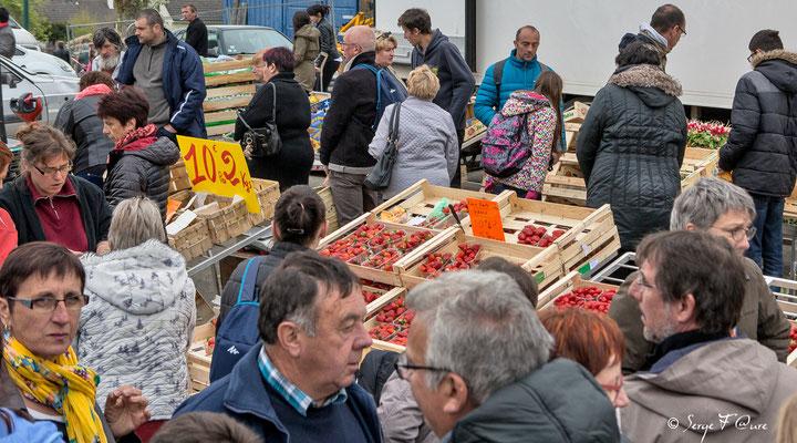 Foire de Giat (les fruits et légumes) - Auvergne - France (2017)
