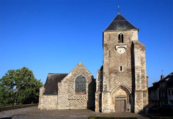 Eglise St Martin de Saint Valéry sur Somme - Baie de Somme - Picardie - France (juillet 2011)