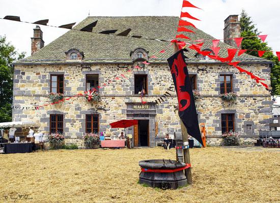 La Mairie de Murat le Quaire - Massif du Sancy - Auvergne - France