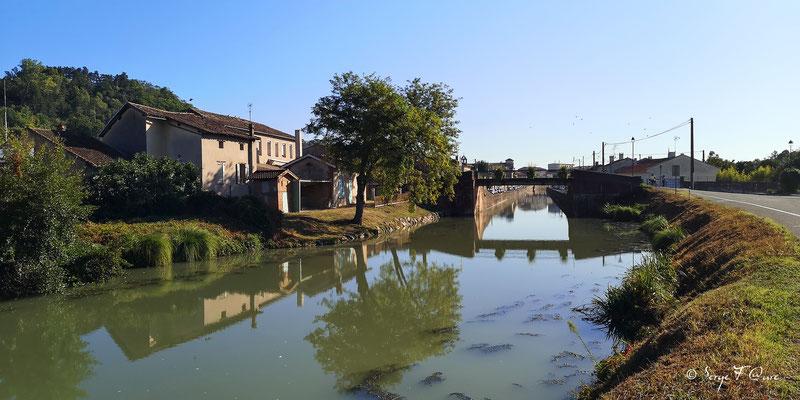 Sortie de Moissac - France - Sur le chemin de Compostelle