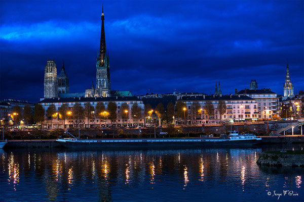 Cathédrale de Rouen - Seine Maritime - Haute Normandie - France - Novembre 2014