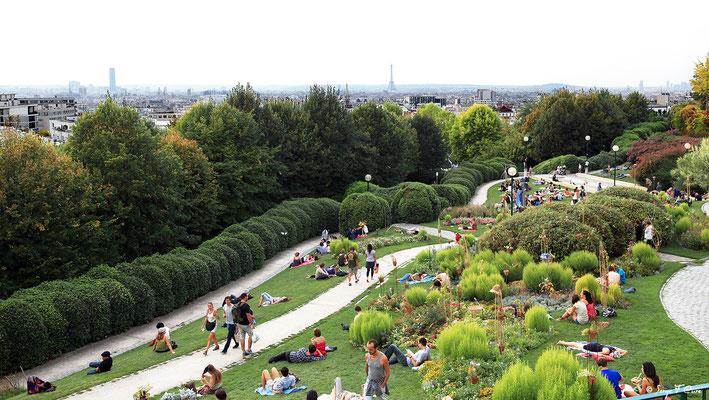 Jardin de Belville - Paris - France - 2011