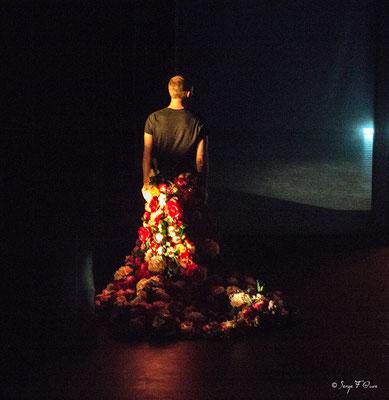 """""""Vanité"""" Dance Contemporaine - Aurélien Le Glaunec - La Bascule à Tauves - Auvergne - France - Avril 2016"""