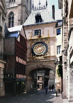 Le Gros Horloge - Rouen - Seine Maritime - Normandie - France