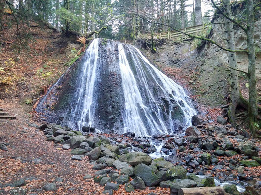 La cascade du Rossignolet - Le Mont Dore - Auvergne - France