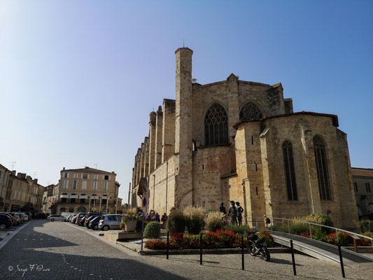 Cathédrale St Pierre  à Condom - Gers - France - Sur le chemin de Compostelle