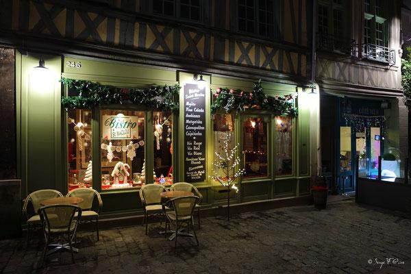 Rue Martainville - Rouen - Seine Maritime - Normandie - France