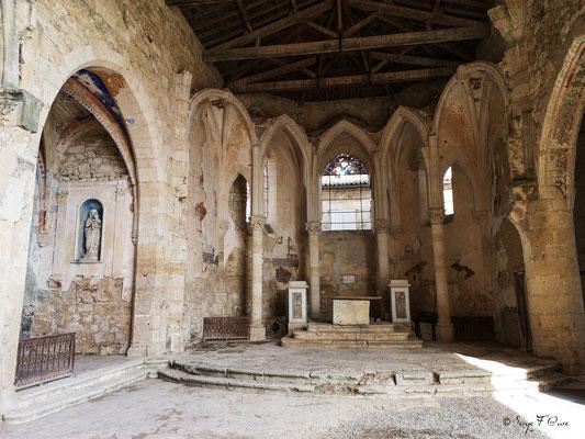 Eglise Saint-Saturnin à Flamarens - France - Sur le chemin de Compostelle