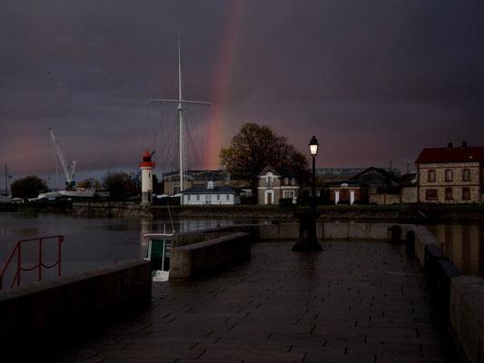 Honfleur sous l'orage - Novembre 2010 (Normandie France)