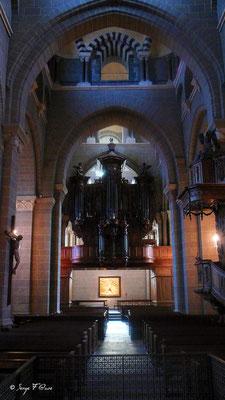 Le Puy en Velay - Les orgues de la Cathédrale (Chemin de Compostelle 2014)