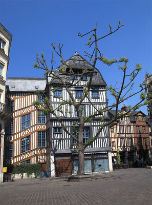 Place Barthélémy - Rouen - Seine Maritime - Normandie - France