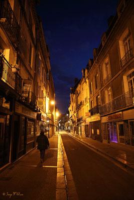 Rue Saint Jacques à Dieppe (Haute Normandie - France - Juin 2012)