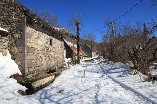 L'Usclade - Petit hameau de Murat le Quaire - Massif du Sancy - Auvergne - France