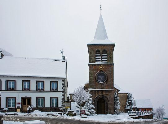 Eglise de Murat le Quaire - Massif du Sancy - Auvergne - France