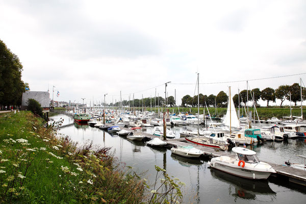 Port de Saint Valéry sur Somme - Baie de Somme - Picardie - France (juillet 2011)