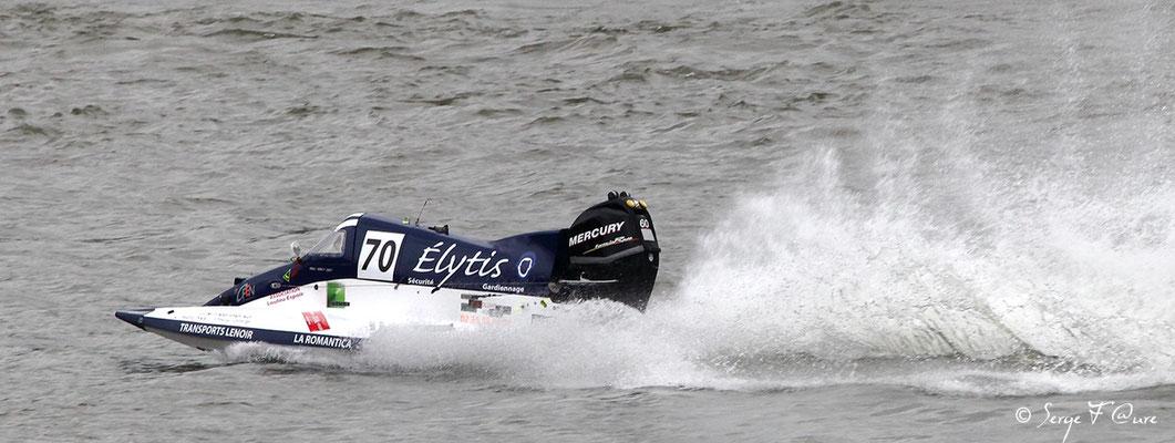 Vainqueur Classe 1 - Team DKC - Pilotes: T. Chedru / M. Chedru / T. Cleret - 24 heures motonautiques de Rouen 2013 (50ème édition)