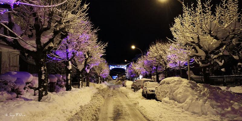 Nuit du réveillon 2020/2021 - Le Mont Dore - Massif du Sancy - Auvergne - France