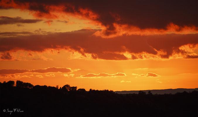 Coucher de soleil - Massif du Sancy - Auvergne - France