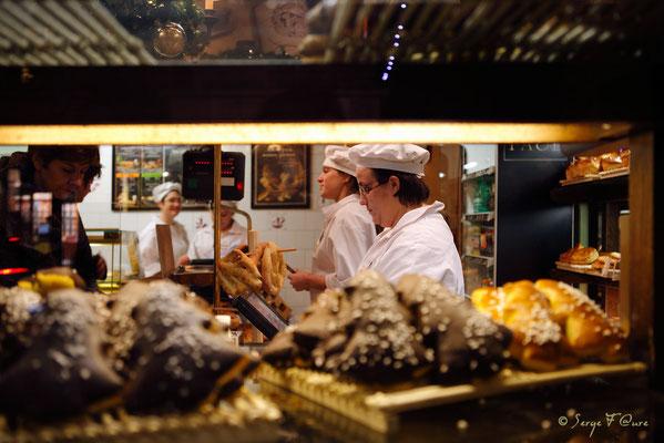 A la boulangerie - Rouen - Haute Normandie - France - Décembre 2011