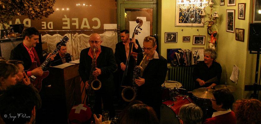 SancySnowJazz  2009 - Matthieu Boré -Fats Domino's true spirit - Le Petit Paris