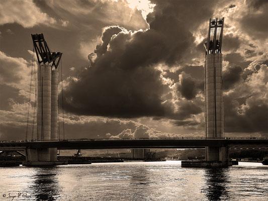 Pont Gustave Flaubert - Rouen - Seine Maritime - Normandie - France - Août 2014