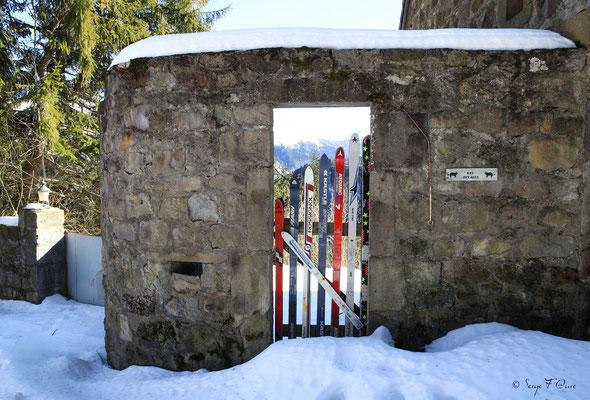 Sur le Chemin Légal - le Mont Dore du chemin de Légal - Massif du Sancy - Auvergne - France