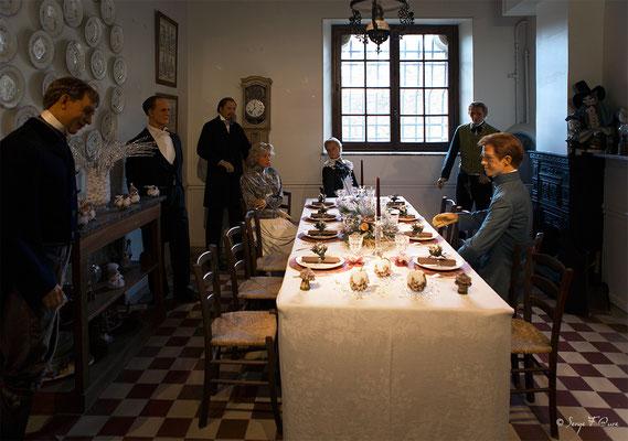 Salle à manger des cuisine du Château de Breteuil - Choisel - Yvelines - Île de France