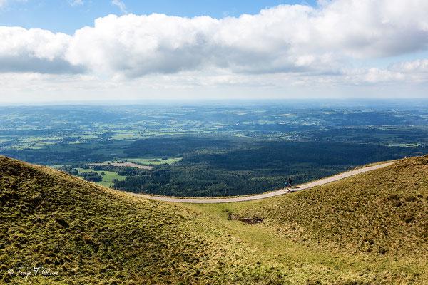 Chaîne des Puys vue du Puy de Dôme - Auvergne - France