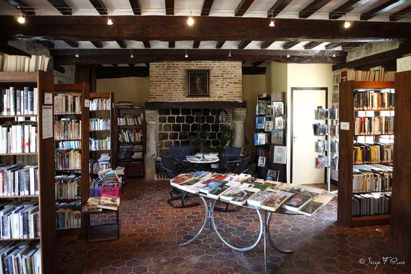 Bibliothèque de Veules les roses - Pays de Caux - Normandie - France