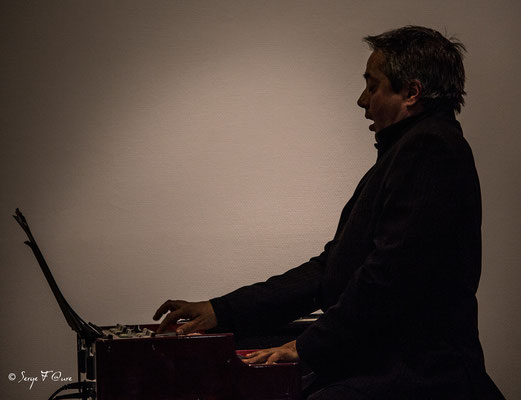 """Thierry Ollé (orgue) - """"The Hotdoggers"""" - Sancy Snow Jazz 2016 - Murat le Quaire - Auvergne - France"""