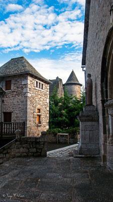 Sénergues - France - Sur le chemin de St Jacques de Compostelle (santiago de compostela) - Le Chemin du Puy ou Via Podiensis (variante par Rocamadour)du Puy ou Via Podiensis (variante par Rocamadour)