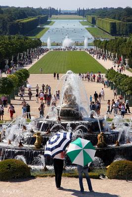 Les grandes eaux à Versailles - Paris - France - 2007