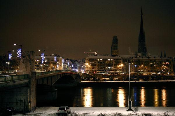 La Cathédrale de nuit - Rouen - Seine Maritime - Normandie - France