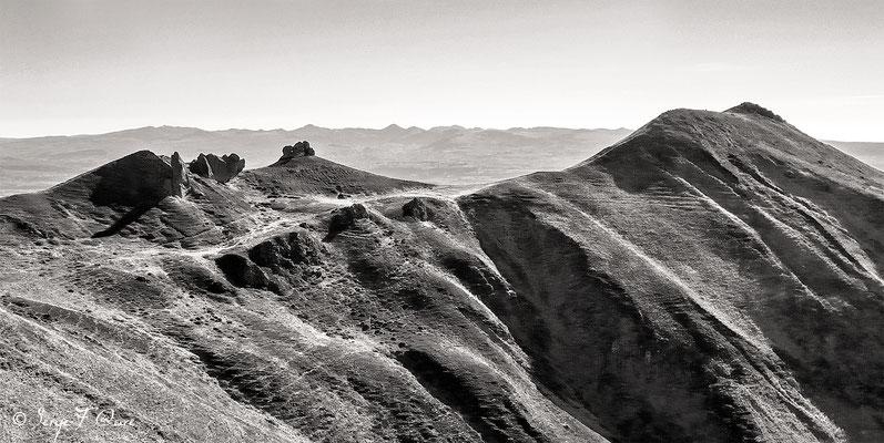 Le crêtes du Sancy - Le Mont Dore - Massif du Sancy - Auvergne - France